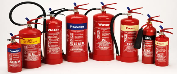 fire extinguishers Warrington
